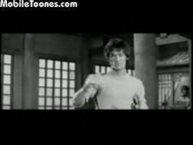 Bruce Lee Nunchaku Playing Mobile Video